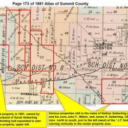1891 Summit County Atlas