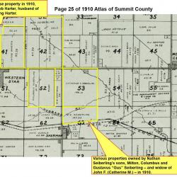 1910 Summit County Atlas