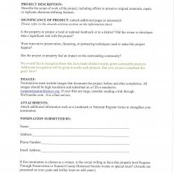 Page 4 of 4 Architectural Heritage Awards application 2020