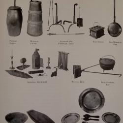 Tools used in the home of the period