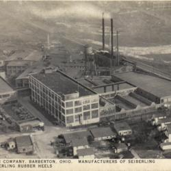 6.	Image of the Seiberling Rubber Company on 15th Street NW in Barberton, Ohio, from the late 1920s (left). Source: Chapman Family.