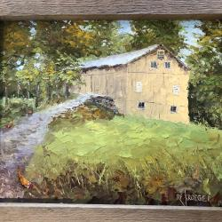 "The title of this barn on Ridgewood Road is ""Protected."" It will be part of the silent auction at the Road Rally event."