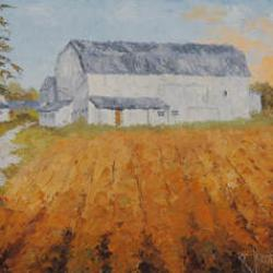 Seiberling Farm barn on Greenwich Road, Norton - for sale as part of the silent auction.